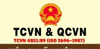 Tiêu chuẩn nước cất TCVN 4851:1989 dùng phân tích cho phòng thí nghiệm