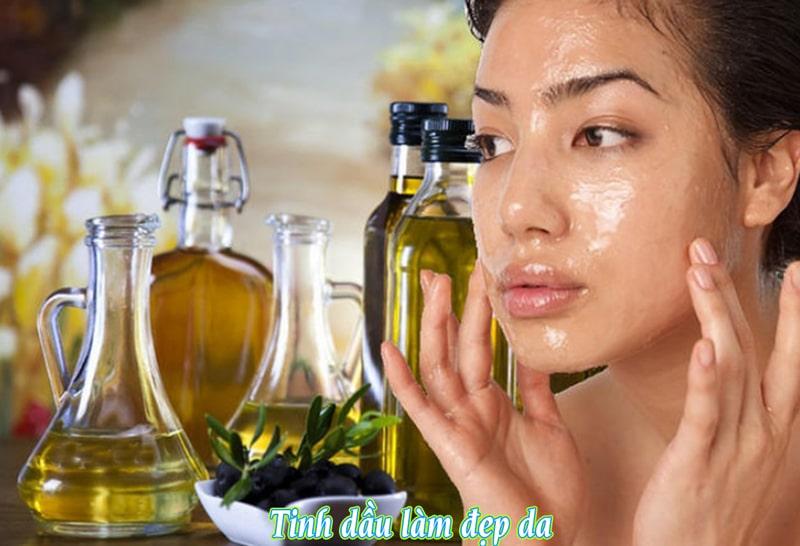 tinh dầu chăm sóc làn da căng mịn