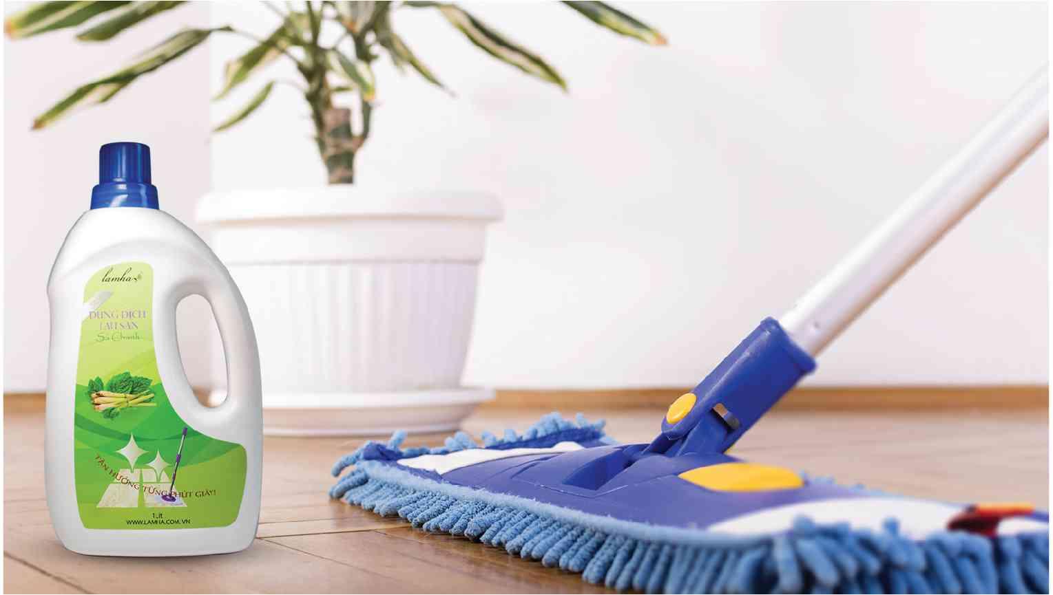 Nước lau sàn sả chanh diệt khuẩn