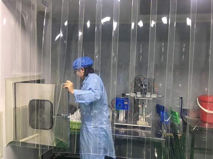 phòng sạch tiêu chuẩn GMP WHO  cấp B Lam Hà