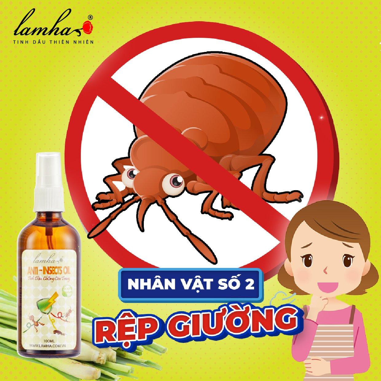 Rệp giường tinh dầu chống côn trùng