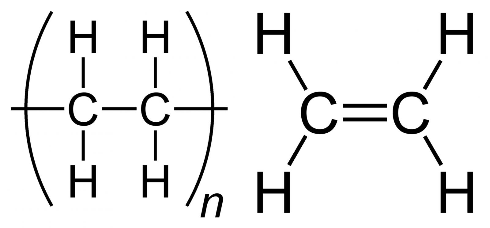 Cấu trúc phân tử của nhựa tổng hợp HDPE