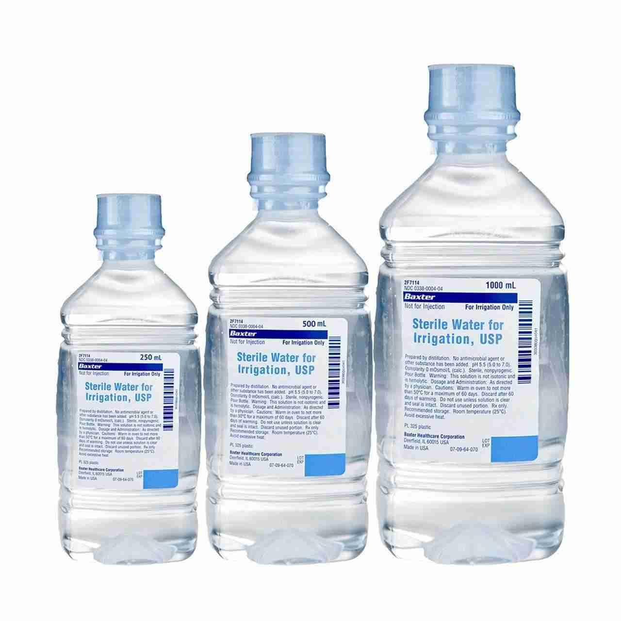 Nước vô trung pha tiêm y tế