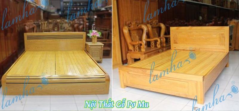 Nội thât Giường Tủ bàn ghế gỗ Pơ mu