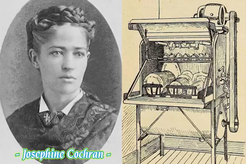 Máy rửa bát đầu tiên trên thế giới